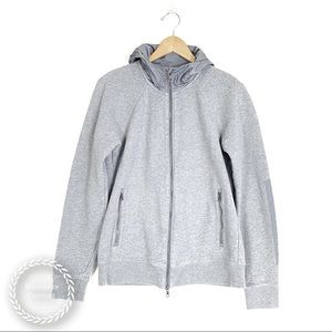 VINCE. Men's Full Zip Waterproof Hood Sweatshirt
